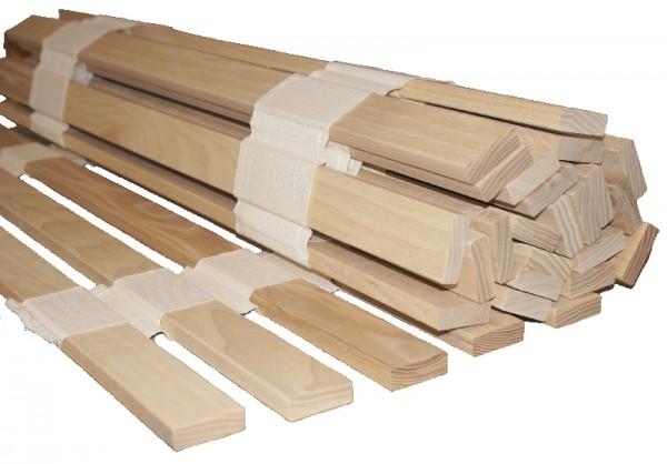 hochwertiger Rolllattenrost aus Esche massiv, FSC zertifiziert