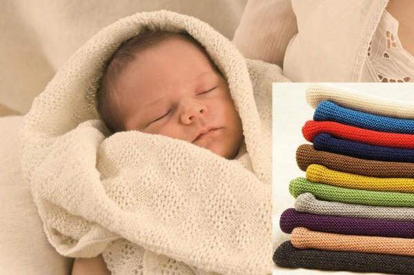 bio Strickschlafsack für Babys