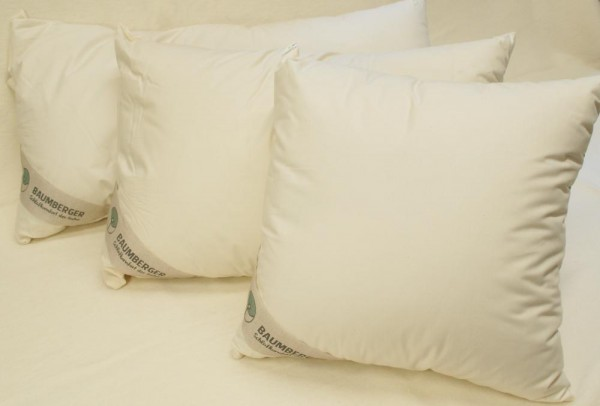 Kopfkissen KAPOK - Fasern in Bezug aus Bio-Baumwolle BaKa