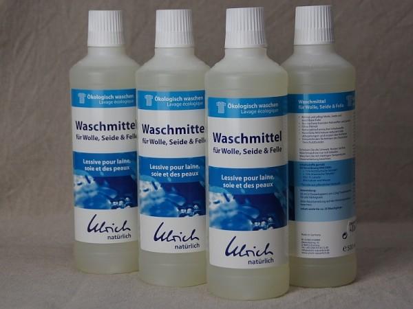 natürliches Bio Waschmittel für Wolle, Seide, Felle