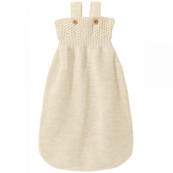 Baby Strick-Schlafsack aus Bio Schurwolle von disana