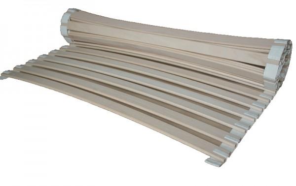 Rollrost metallfrei Federleisten aus Buche Rolllattenrost