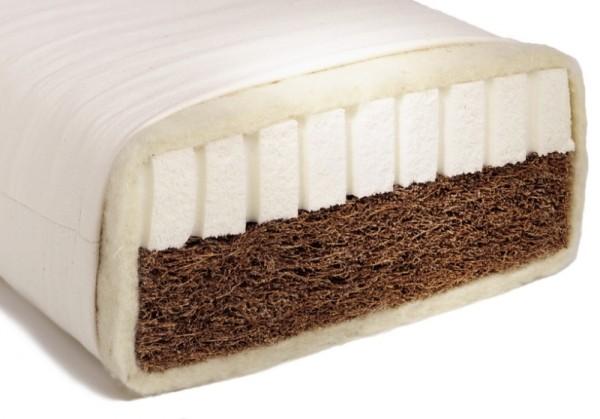 Bio Matratze NELE für Kinder & Jugendliche, Kokos-Latex