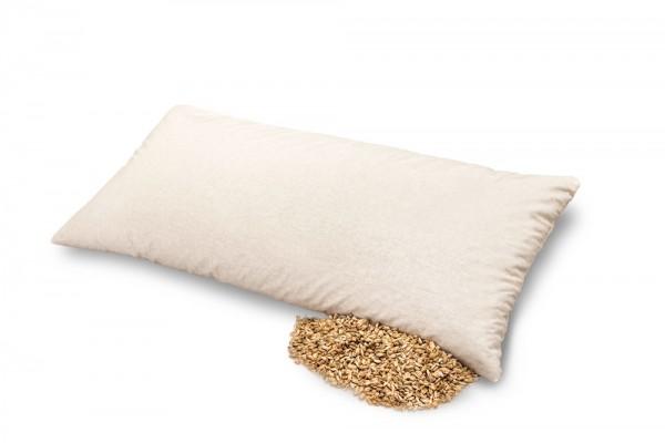 BIO DINKELKISSEN - Dinkelspelz im Bezug aus Bio-Baumwolle