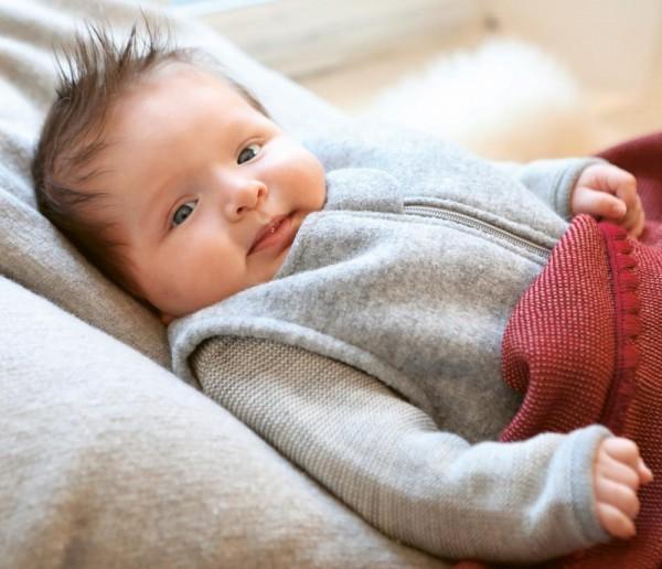 Bio Baby Walk Schlafsack von Disana, Merinowolle mit feinster Biobaumwolle