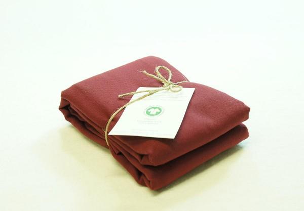 Bio Bettwäsche Kopfkissen aus feiner Baumwolle gewebt
