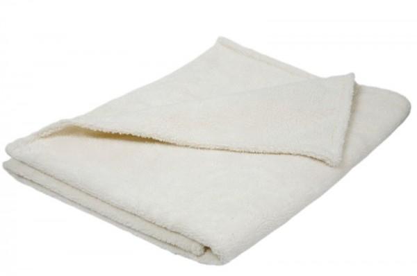 Bio Baumwolle Plüschdecken, Teddyplüsch Decke aus kbA Baumwolle