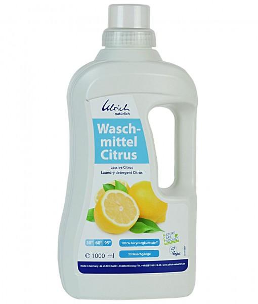 Bio Waschmittel CITRUS, veganes Flüssig-Waschmittel