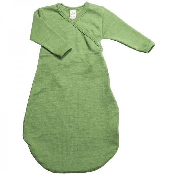 Bio Babyschlafsack WOLLPLÜSCH - Baby Schlafsack unifarben in Bioqualität
