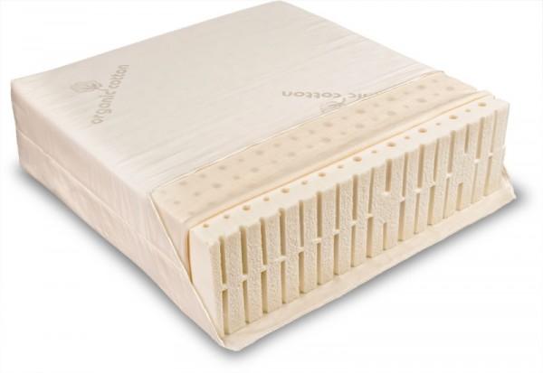 Bio NATURLATEX-Matratze VARIA SOLO COMFORT, Allergiker Matratze